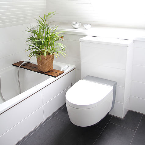 Bevorzugt Dusch-WC Einbau vom Profi | AquaClean SG56