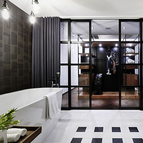 Wohnideen Für Männer luxus suite für echte männer aquaclean