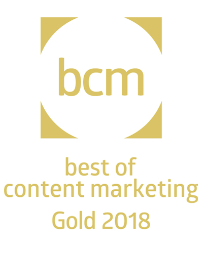 BCM Award, AquaClean Blog, Geberit, Geberit BCM Award, Best of Content Marketing Gold 2018